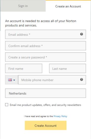 Successfully redeeming your Norton product key - Softwarehulp